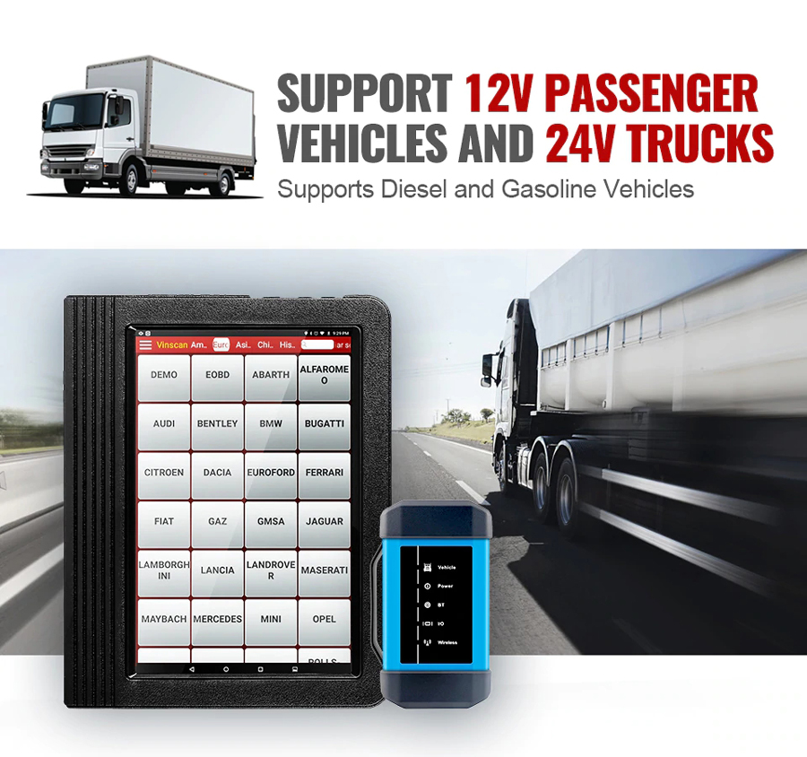 Launch-X431-V-40-WifiBluetooth-101inch-Tablet-with-HD3-Ultimate-Heavy-Duty-Adapter-Work-on-both-12V-24V-Cars-and-Trucks-SP184SP293-B
